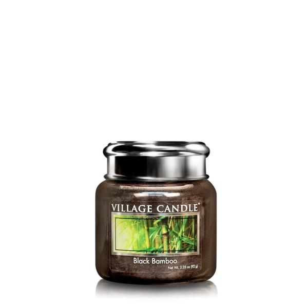 Black Bamboo 3.75 oz Glas Village Candle
