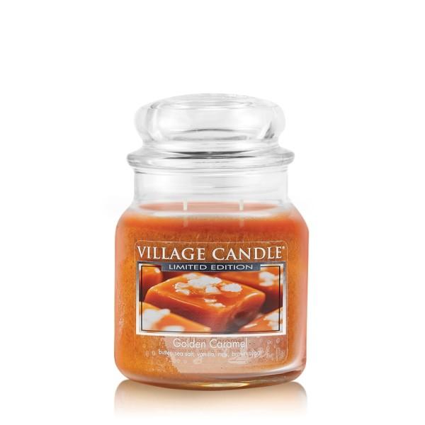 Golden Caramel 16 oz LE Glas (2-Docht) Village Can