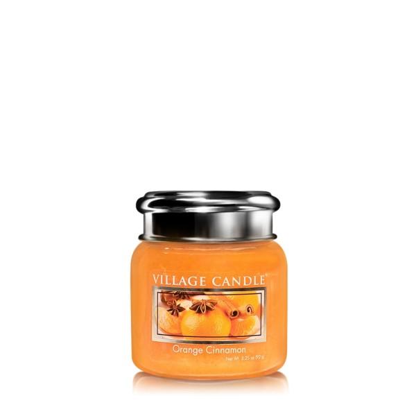 Orange Cinnamon 3.75 oz Glas Village Candle