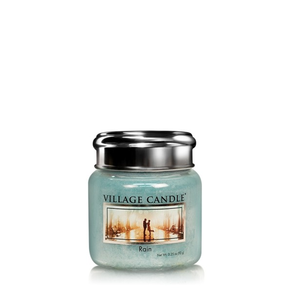 Rain 3.75 oz Glas Village Candle