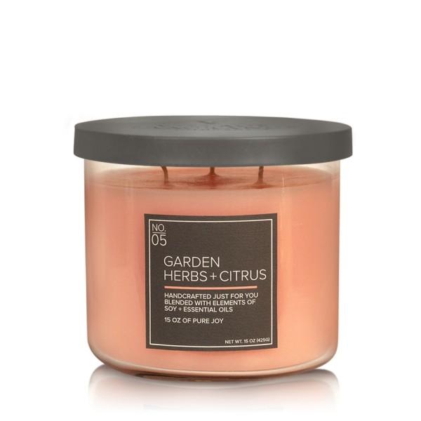 Garden Herbs 17 OZ Glas Soja Kerze VC (3-Docht)