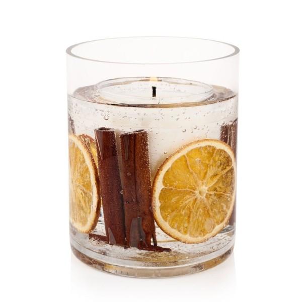 Gelkerze Big 1.1kg Orange Cinnamon