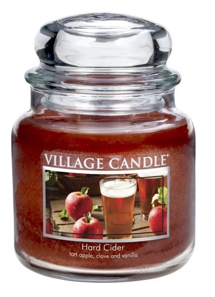 Hard Cider 16 oz Glas (2-Docht) Village Candle