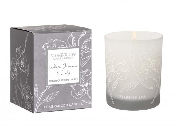 Day Flower White Jasmine & Lily Tumbler