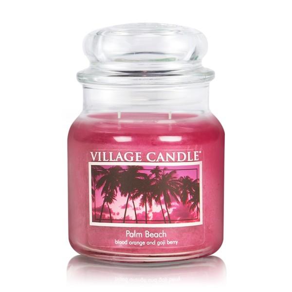 Palm Beach 16 oz Glas  (2-Docht) Village Candle