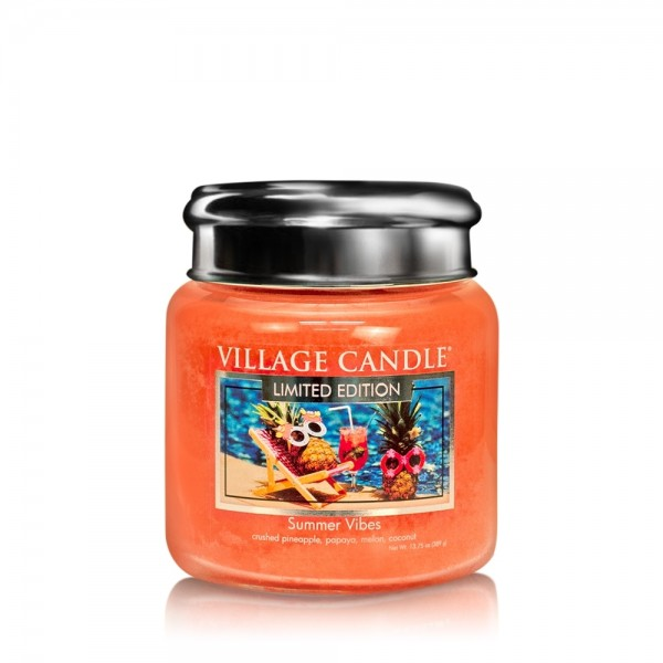 Summer Vibes16 oz LE Glas (2-Docht) Village Candle