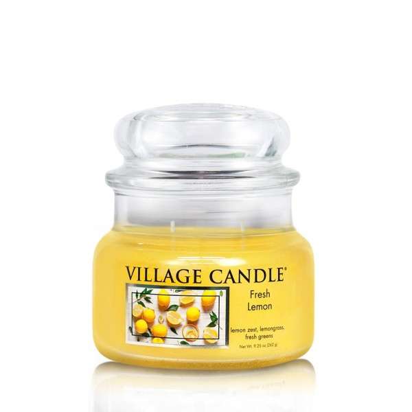 Fresh Lemon 11 oz (2-Docht) Village Candle