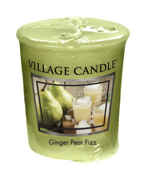 Ginger Pear Fizz Votivkerze