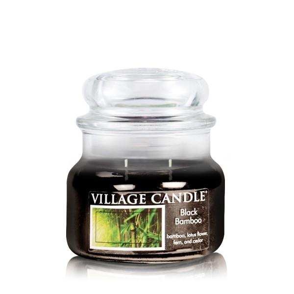Black Bamboo 11oz 2-Docht Village Candle