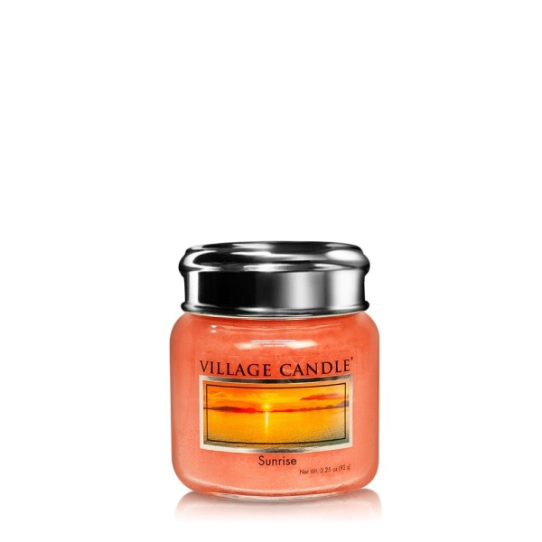 Sunrise 3.75 oz Glas Village Candle