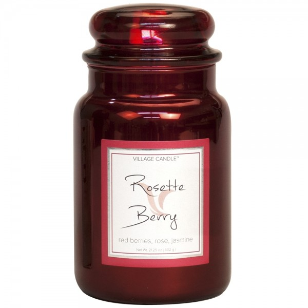 Rosette Berry Metallique 26 oz (2-Docht) Village C
