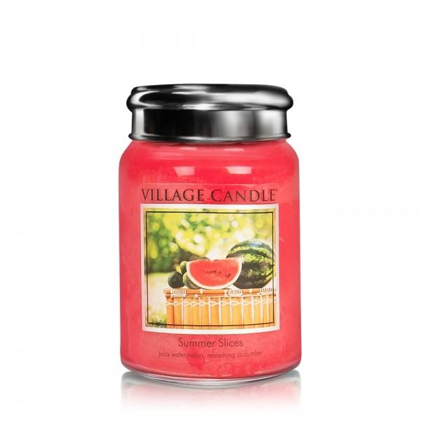 Summer Slices 26 oz Glas (2-Docht) Village Candle