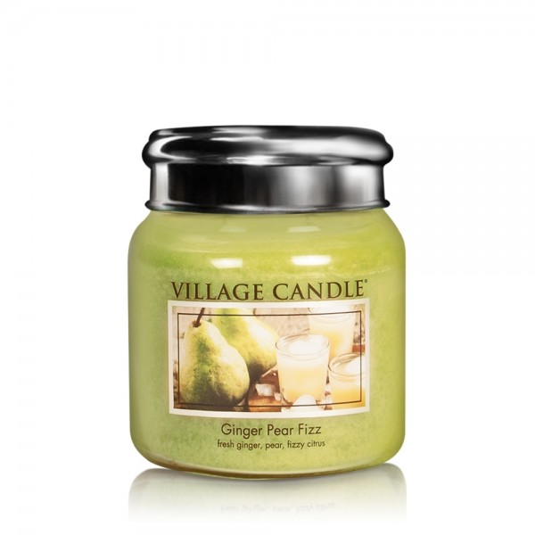 Ginger Pear Fizz 16oz 2-Docht Village Candle