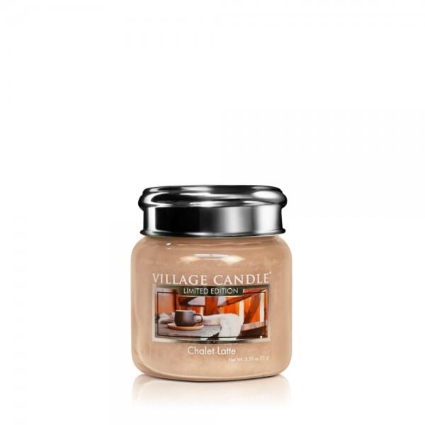 Chalet Latte 3.75 oz LE Glas Village Candle