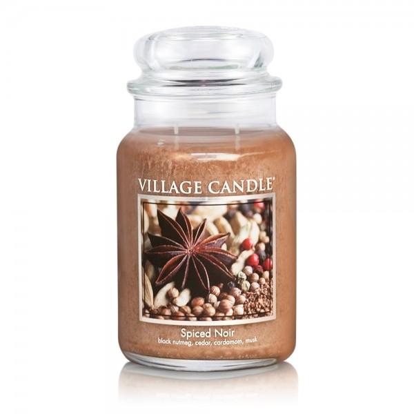 Spiced Noir 26oz 2-Docht Village Candle