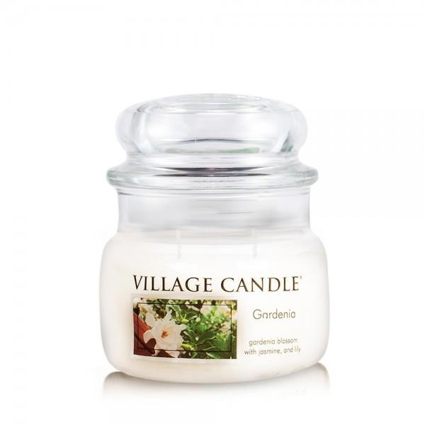 Gardenia 11 oz Glas (2-Docht) Village Candle