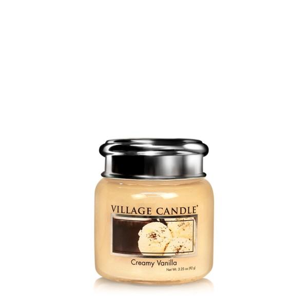 Creamy Vanilla 185g Village Candle