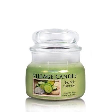 Sea Salt  Cucumber 11 oz (2-Docht) Village Candle