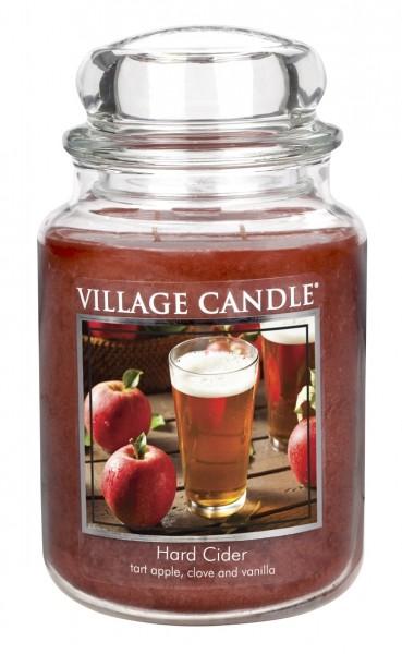 Hard Cider 26 oz Glas (2-Docht) Village Candle