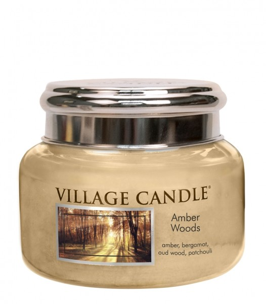 Amber Woods 11oz 2-Docht Village Candle