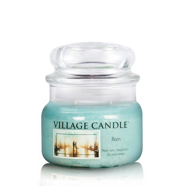 Rain 11oz Glas (2-Docht) Village Candle