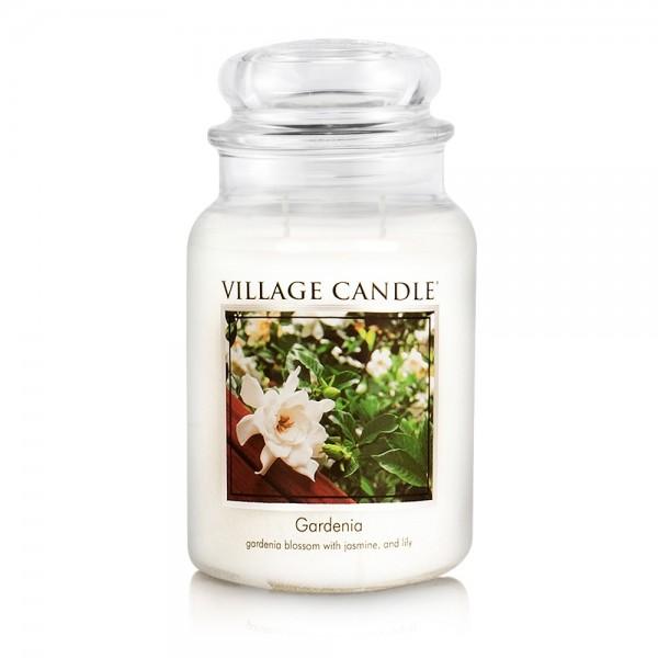 Gardenia 26 oz Glas (2-Docht) Village Candle