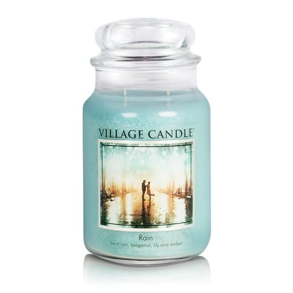 Rain 26 oz Glas (2-Docht) Village Candle