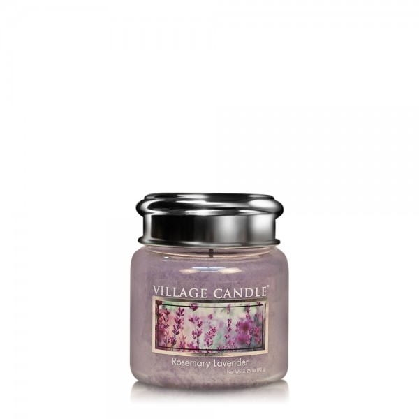 Rosemary Lavender 3.75 oz Glas Village Candle