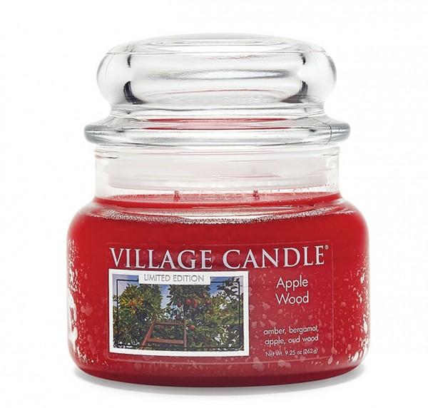 Apple Wood 11 oz LE Glas (2-Docht) Village Candle