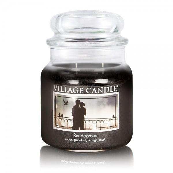 Rendez-Vous 16 oz Glas (2-Docht) Village Candle