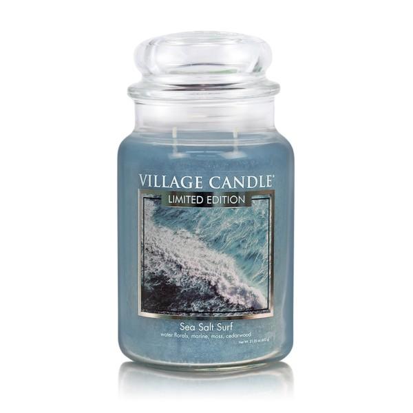 Sea Salt Surf 26 oz LE Glas (2-Docht) Village Cand