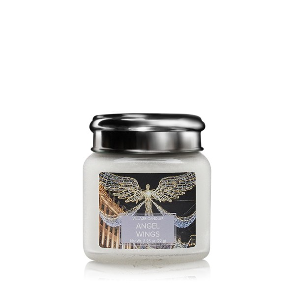 Angel Wings 3.75 oz Glas Village Candle