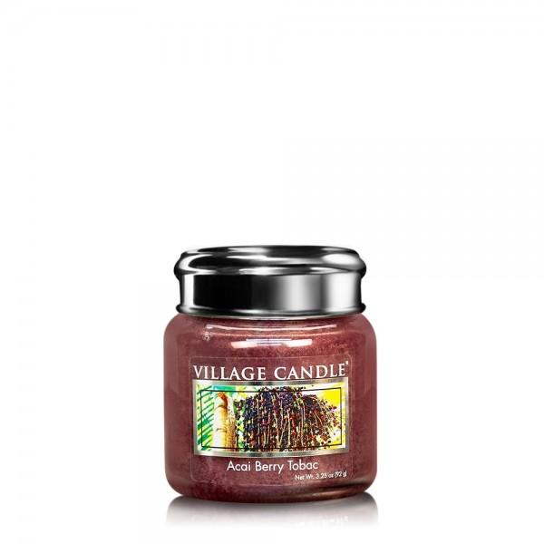 Acai Berry Tobac 3.75 oz Glas Village Candle