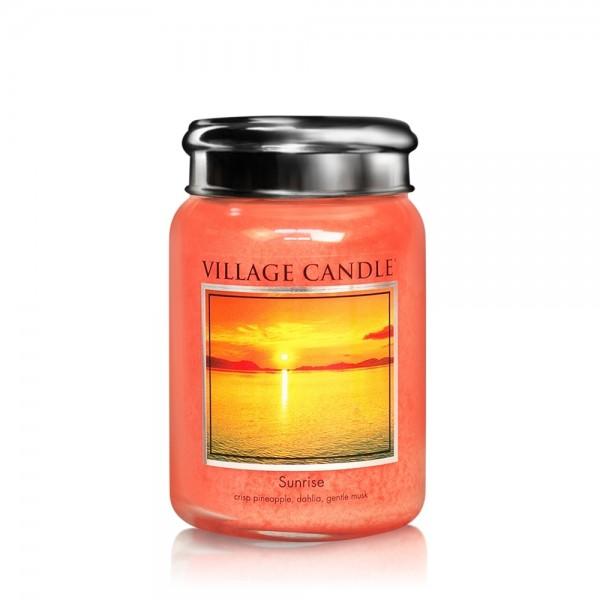 Sunrise 26oz 2-Docht Village Candle