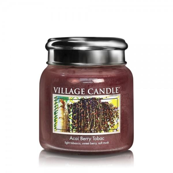 Acai Berry 16 oz Glas (2-Docht) Village Candle