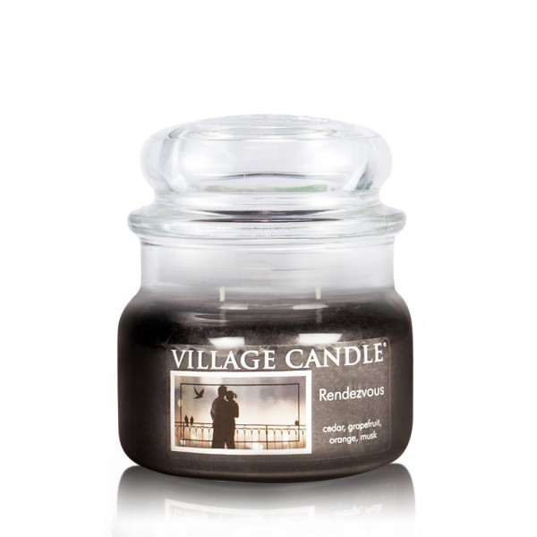Rendez-Vous 11oz Glas (2-Docht) Village Candle