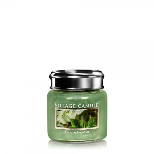 Eucalyptus Mint 3.75 oz Glas Village Candle