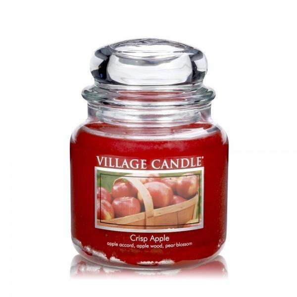 Crisp Apple 16 oz Glas (2-Docht) Village Candle