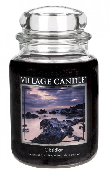 Obsidian 26oz 2-Docht Village Candle