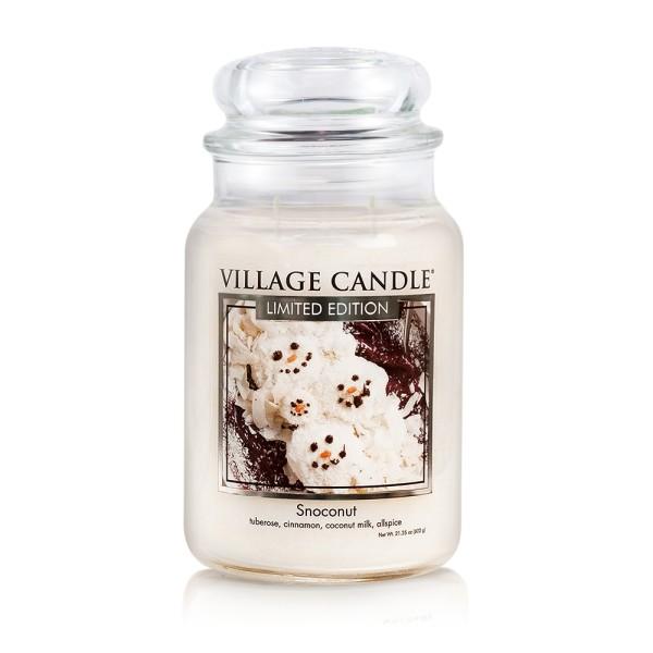 Snoconut 26 oz LE Glas (2-Docht) Village Candle