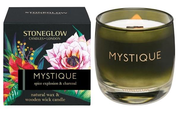 MYSTIQUE - Spice Explosion & Charcoal Kerze 210g