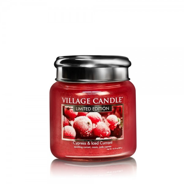 Cypress & Iced Currant 16oz LE Village Candle