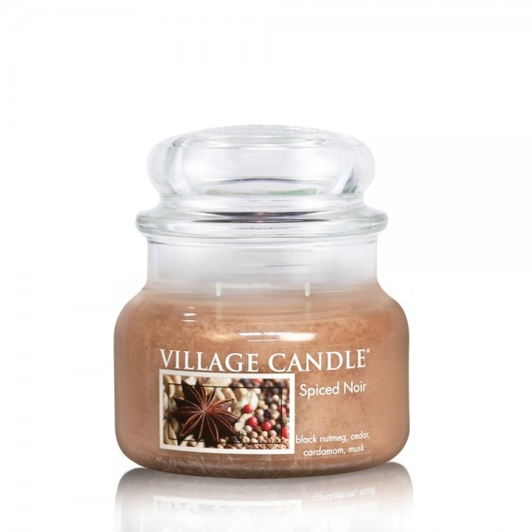Spiced Noir 11 oz (2-Docht) Village Candle