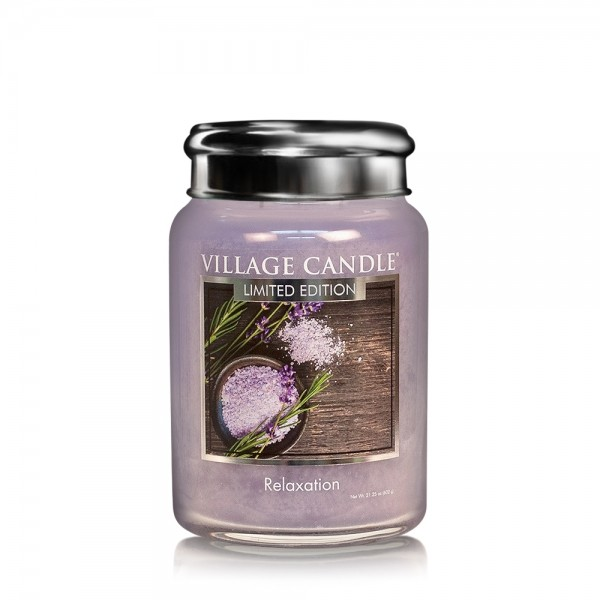 Relaxation 26 oz LE Glas (2-Docht) Village Candle
