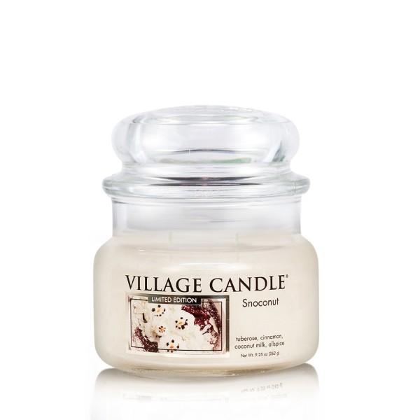 Snoconut 11 oz LE Glas (2-Docht) Village Candle