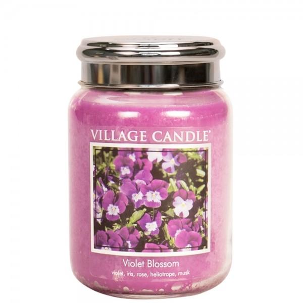 Violet Blossom 26 oz Glas (2-Docht)