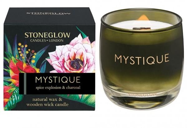 MYSTIQUE - Spice Explosion & Charcoal Kerze