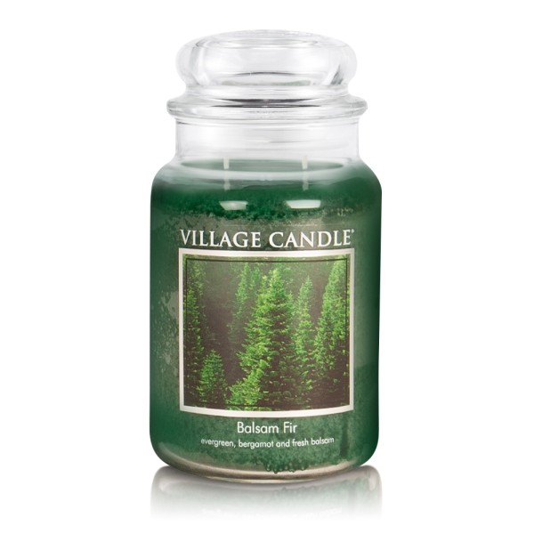Balsam Fir 26oz 2-Docht Village Candle