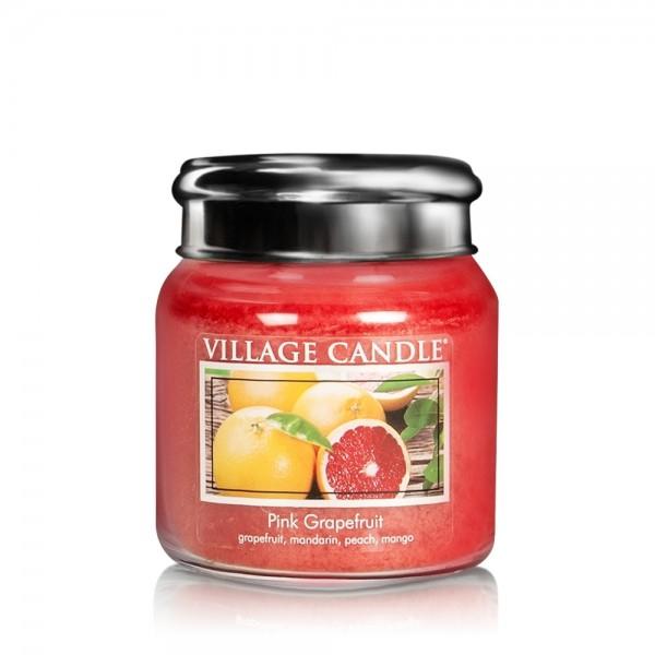 Pink Grapefruit 16 oz Glas (2-Docht) Village Candl