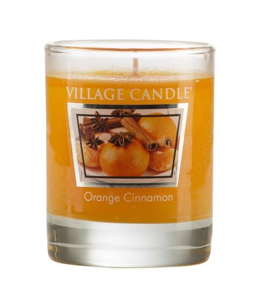 Orange Cinnamon 1.75oz Votiv Glas Village Candle